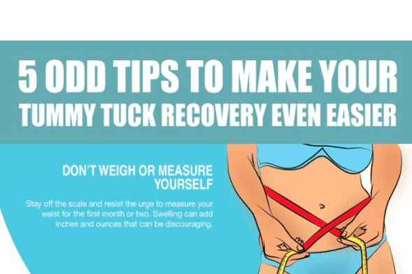 , 5 Odd Tips To Make Your Tummy Tuck Recovery Easier [Infographic]